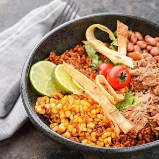 Slow Cooker Pork Enchilada Bowls Recipe