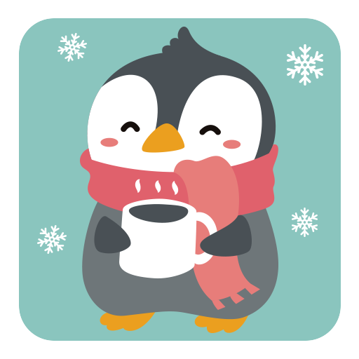 Penguin stickers for WhatsApp . WAStickerApps