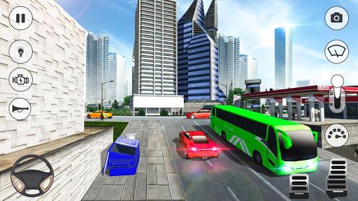 Coach Bus Simulator 2020: Modern Bus Drive 3D Game  Wallpaper 12