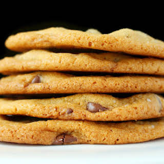 The Best Chewy and Crispy Chocolate Chip Cookies.
