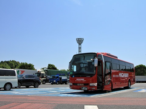 JR九州バス「広福ライナー」 4554 下松パーキングエリアにて_02