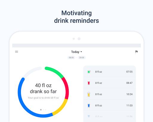 Hydro Coach PRO - Drink water screenshot 8