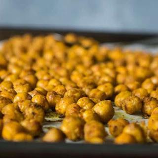 Roasted Garam Masala Chickpeas- Healthy Snack.