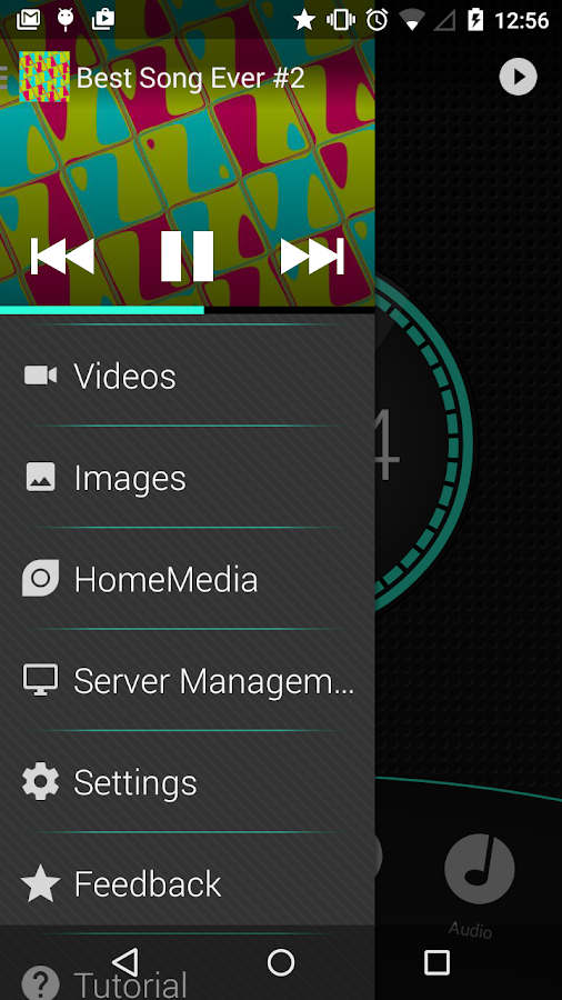 Remote for WMP LITE: captura de pantalla