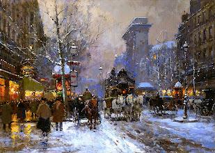 """Photo: Édouard Cortès, """"Boulevard de la Madeleine"""""""