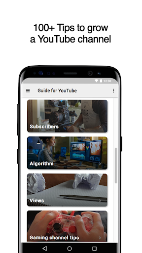 Guide for YouTube Channels 2.7 screenshots 1