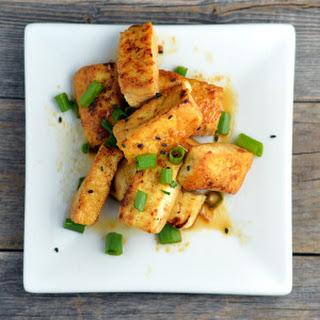 Sauteed Teriyaki Tofu