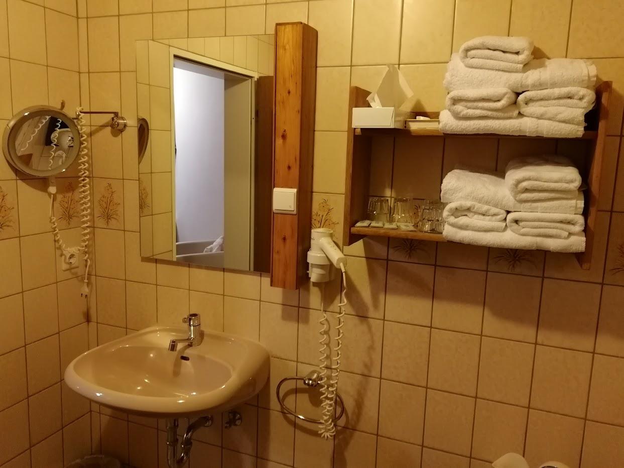 Große Teichsmühle Dülmen Badezimmer