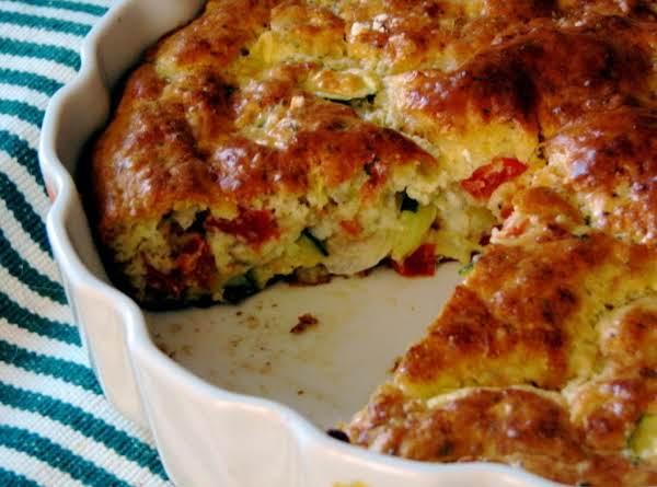 Zucchini Tomato Pie Recipe