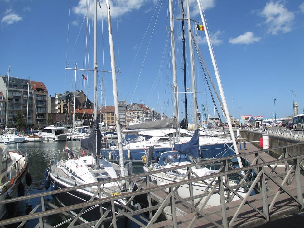 de jachthaven Mercator Marina Oostende