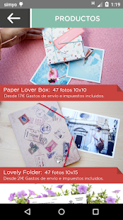 Paper Lover - Imprimir fotos Screenshot