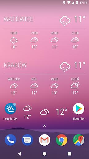 Weather ICM u2014 the best forecast for Europe 1.5.5 screenshots 9