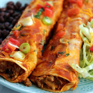 Easy Beef Enchiladas (Freezer Friendly)