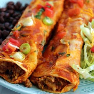 Easy Beef Enchiladas (Freezer Friendly).