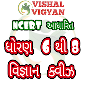 NCERT Based Science MCQ STD 6 To 8 Vishal Vigyan