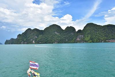 Cruise into the spectacular Phang Nga Bay