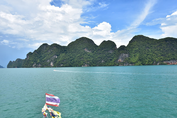Cruise into the spectacular Phang Nga Bay