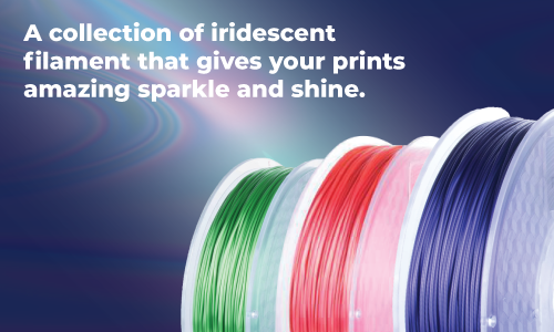 Sparkly 3D Printer FIlament