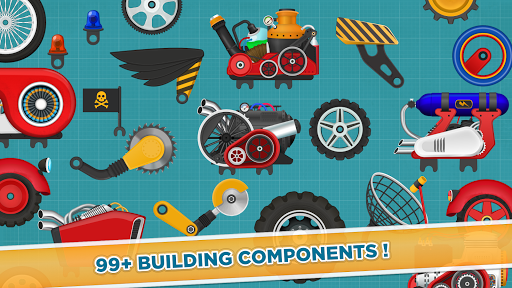Car Builder and Racing Game for Kids 1.2 screenshots 5