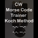 CW Koch Morse Code Trainer App icon