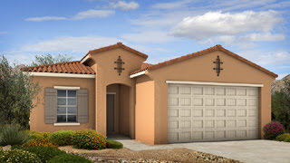 Lily II floor plan by Taylor Morrison Homes in Adora Trails Gilbert 85298