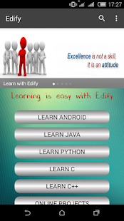 Edify learn to Code- screenshot thumbnail