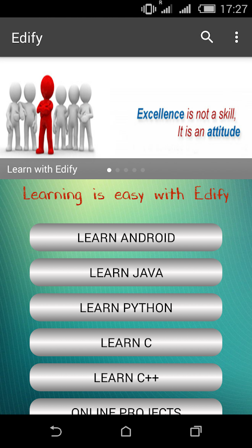 Edify learn to Code- screenshot