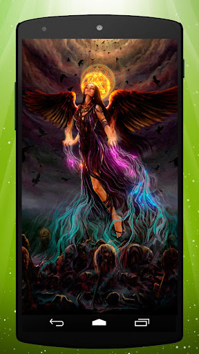 Gothic Angel Live Wallpaper