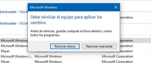 Solución error pantalla negra en Windows 10