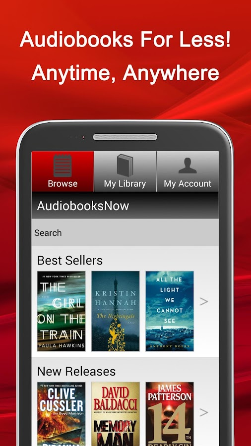 how to buy audiobooks on android