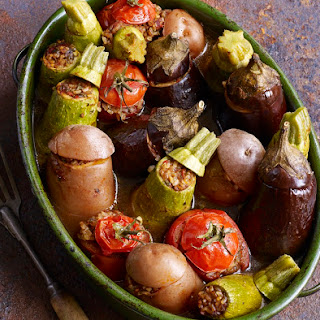 Vegetarian Stuffed Vegetables.