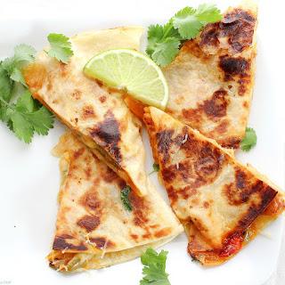 Chicken Fajitas Quesadillas