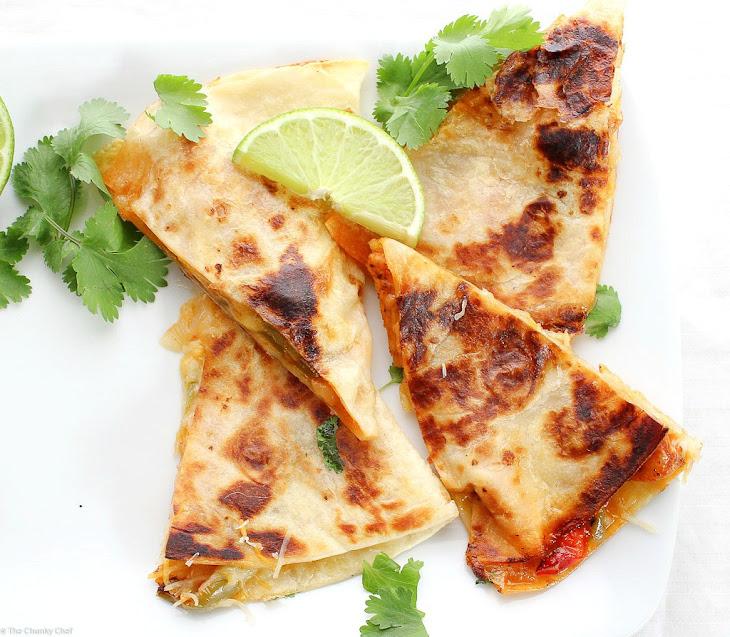 Chicken Fajitas Quesadillas Recipe