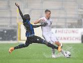 Nils Schouterden (Eupen) nourrit des regrets après le défaite contre le Club de Bruges