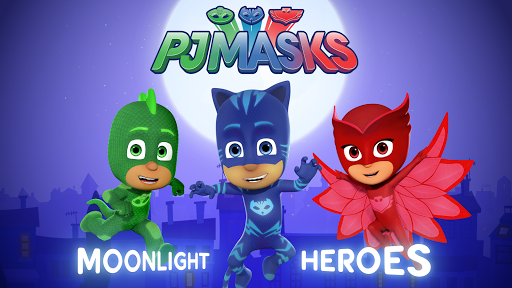 玩免費休閒APP|下載PJ Masks: Moonlight Heroes app不用錢|硬是要APP