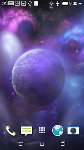 Galaxy 3D Video Wallpaper