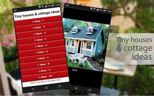 Tiny houses cottage ideas
