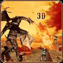 Warrior Dragon Attack Sim 2016 icon