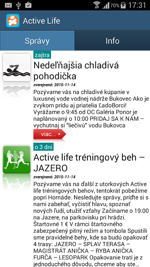 Active Life- screenshot
