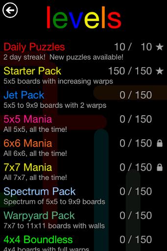 Flow Free: Warps screenshot 3