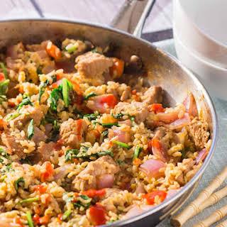 Quick Pork Fried Rice.