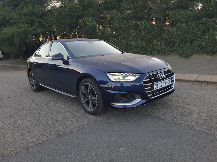 New A4 arrives with a facelift and mild-hybrid engines. Picture: DENIS DROPPA