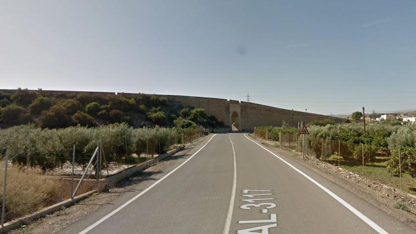 Carretera en la que ha tenido lugar el suceso.