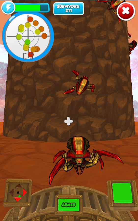 Spiders Of Mars- screenshot