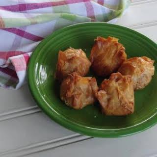 Bacon Blue Cheese Puffs.