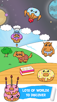 Donut Evolution Clicker apk screenshot
