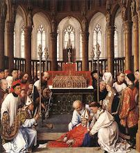 Photo: Exhumation of St Hubert, c. 1437-40