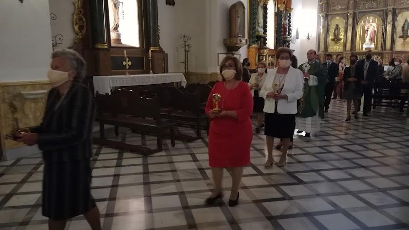 Procesión de las reliquias del padre Rubio.