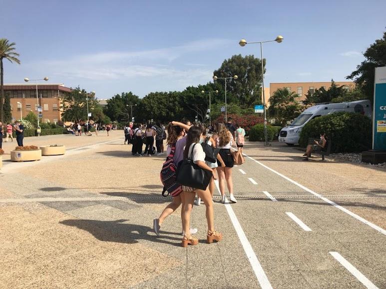 El campus de La Cañada recibe esta semana a nuevos estudiantes.