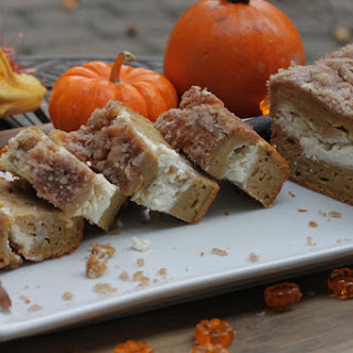 Pumpkin Streusel Bread Nibbles